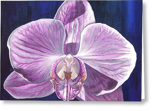 Orchid I Greeting Card