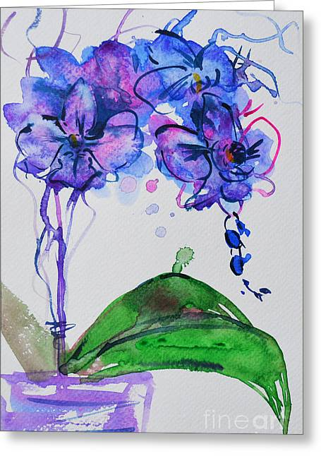 Orchid Inspiration Greeting Card