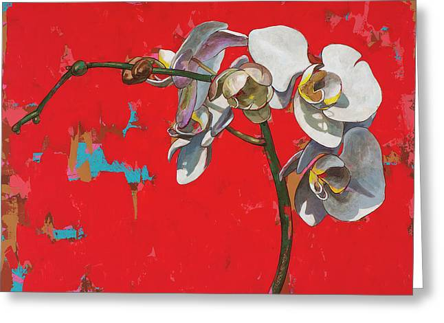 Orchids #1 Greeting Card