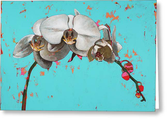 Orchids #5 Greeting Card