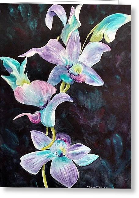 Orchids Alive Greeting Card