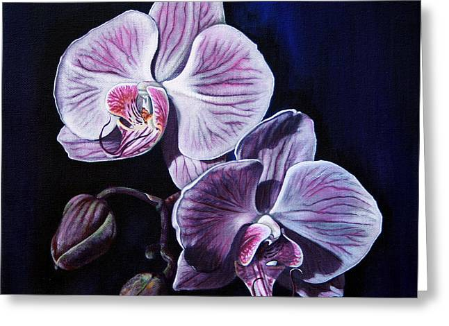 Orchids II Greeting Card