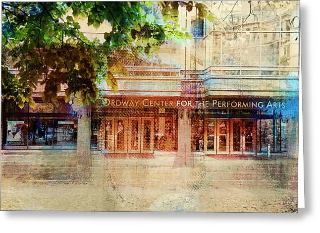 Greeting Card featuring the photograph Ordway Center by Susan Stone