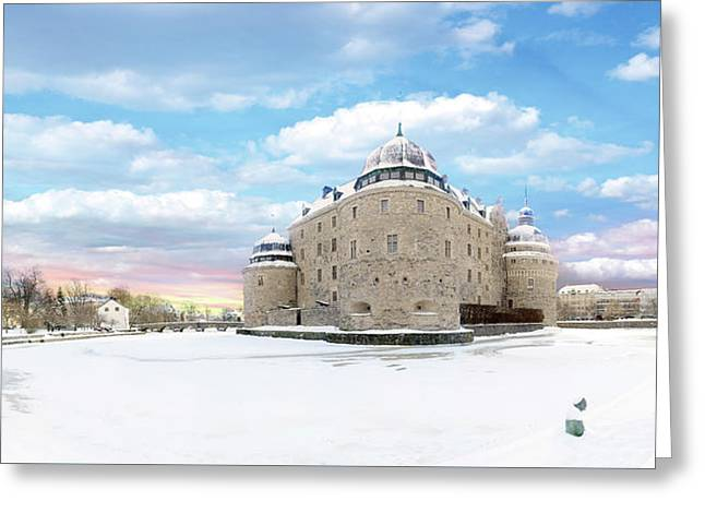 Orebro Castle Greeting Card
