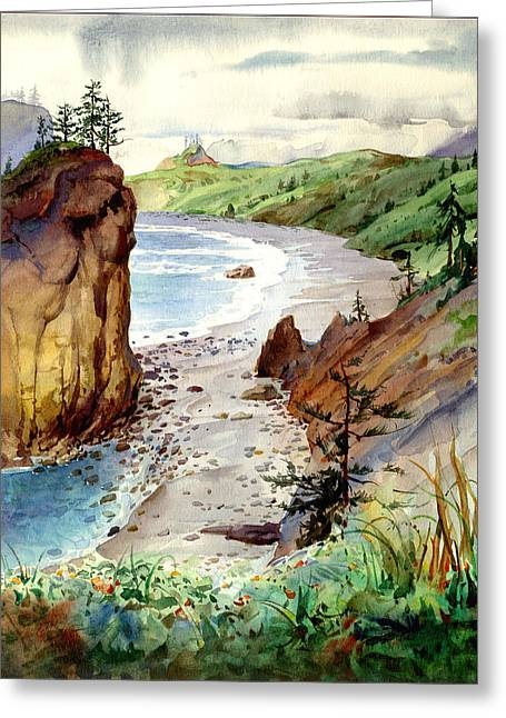 Oregon Coast #3 Greeting Card