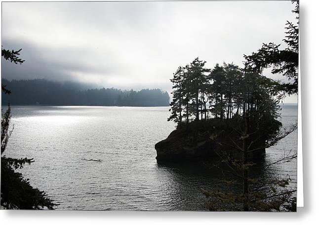 Oregon Coast Fog Greeting Card