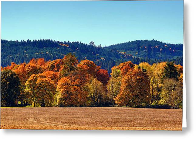 Oregon Fall Greeting Card