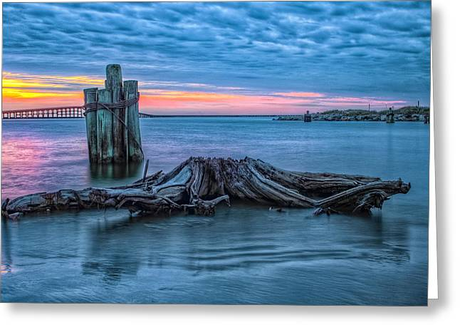 Oregon Inlet II Greeting Card