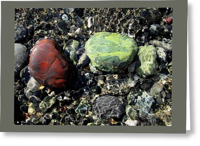 Oregon Jasper #1 Greeting Card