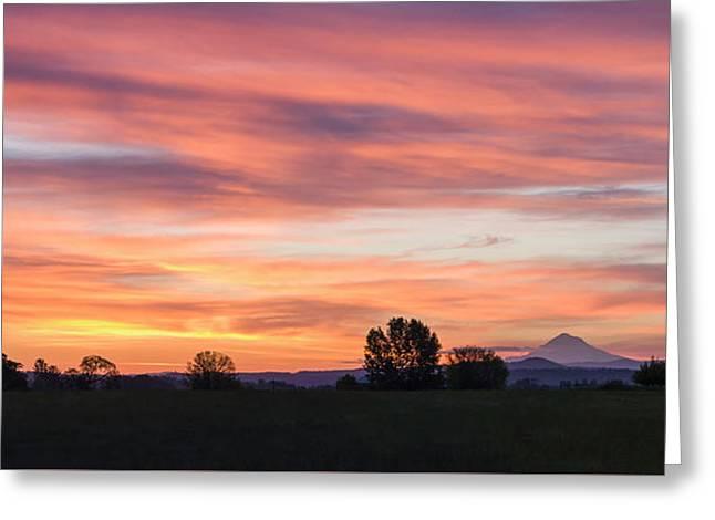 Oregon Sunrise Greeting Card