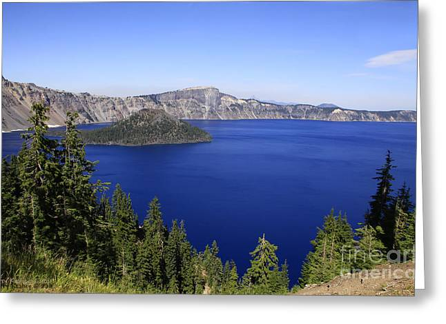 Oregons Crater Lake Greeting Card