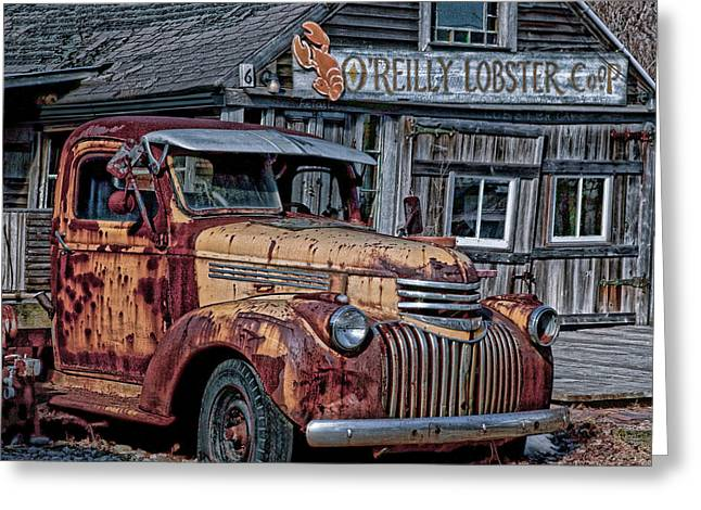 O'reilly Lobster Pound Greeting Card