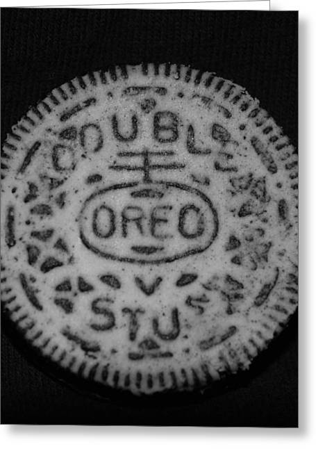 Oreo In Matte Finish Greeting Card by Rob Hans