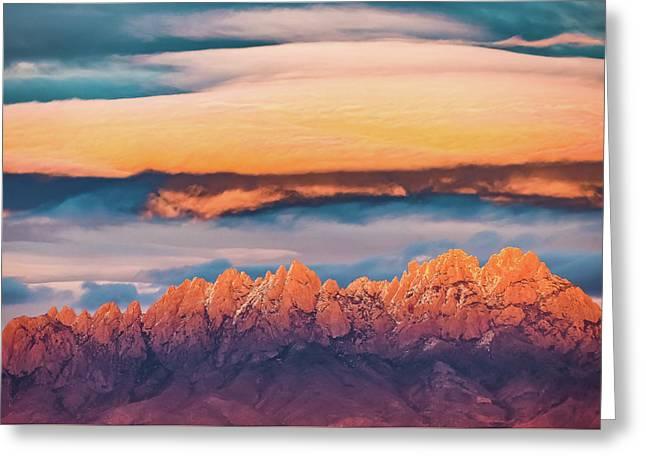 Organ Mountain-desert Peaks National Monument Greeting Card