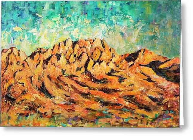 Organ Mountains IIi Greeting Card