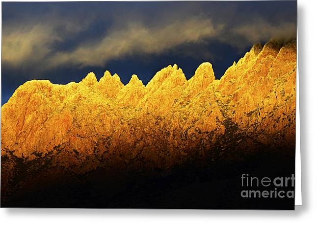 Organ Mountains Land Of Enchantment 1 Greeting Card by Bob Christopher