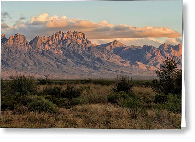 Organ Mountains, Las Cruces, New Mexico Greeting Card by Loree Johnson