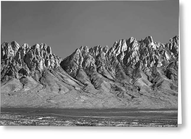 214878-organ Mountains Panorama     Greeting Card