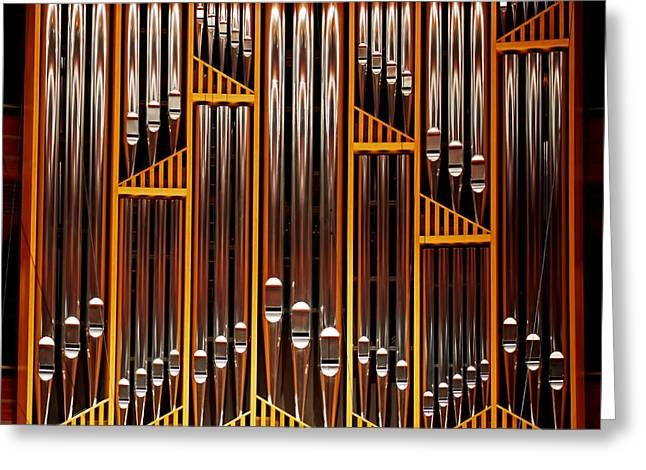 Organ Opus 76 - Philadelphia Greeting Card