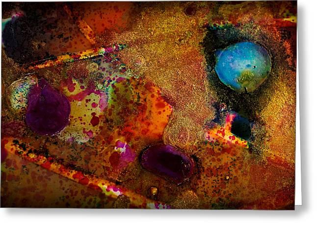 Organic Abstract 11 Greeting Card