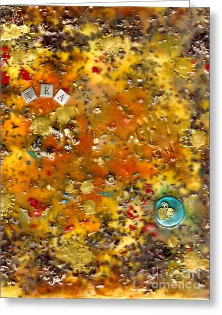 Organic Greeting Card by Angela L Walker