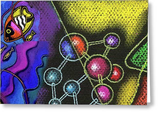Organic Health Food And Biotechnology  Greeting Card