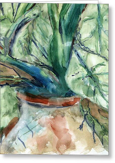 Organic Greeting Card by Marilyn Barton
