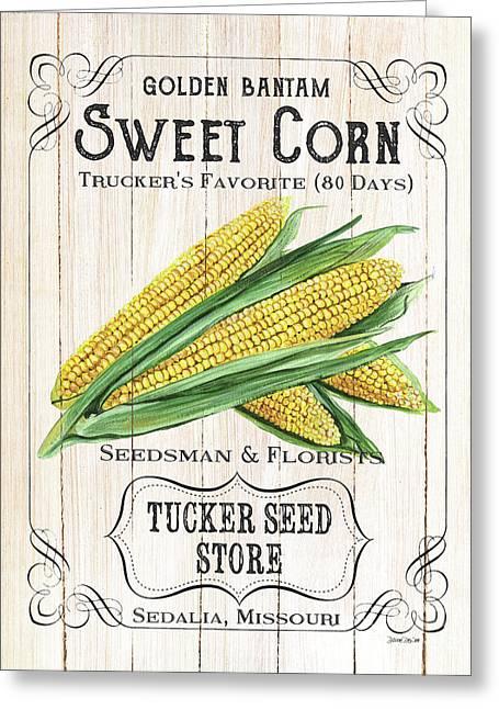 Organic Seed Packet 4 Greeting Card