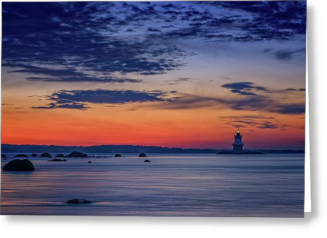Orient Point, Ny Greeting Card by Rick Berk