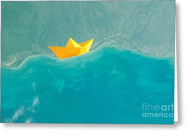 Origami Greeting Card by Jacky Gerritsen