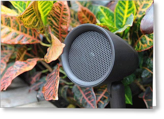 Origin Acoustics Outdoor Speakers Greeting Card
