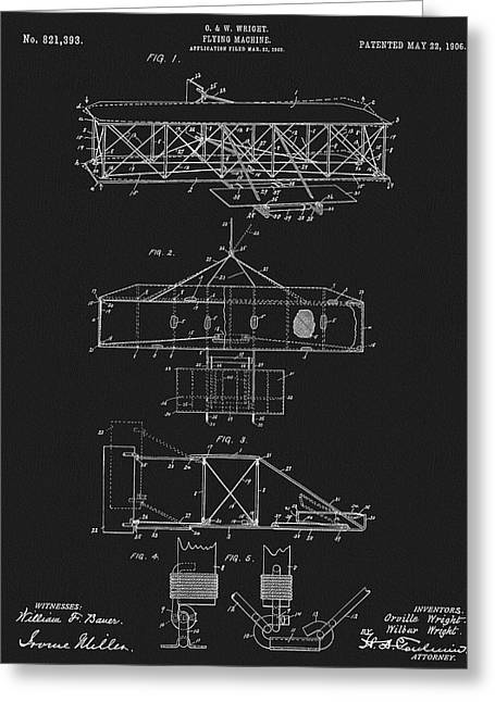 Original 1906 Wright Brothers Full Patent Greeting Card by Dan Sproul