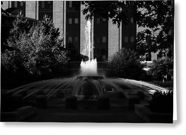 Original Fountain Greeting Card