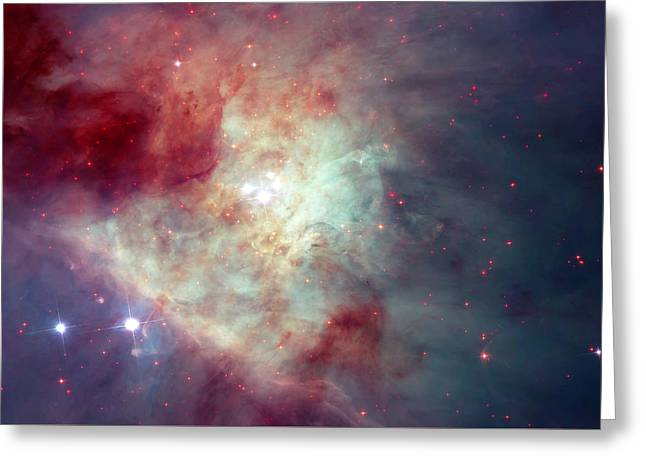Orion Nebula 2 Greeting Card