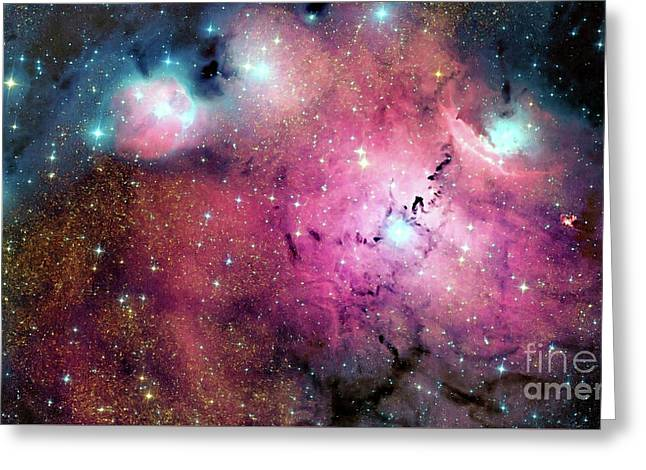 Orion Nebula, Space Exploration, Astronomy, Science, Astrophysics Greeting Card