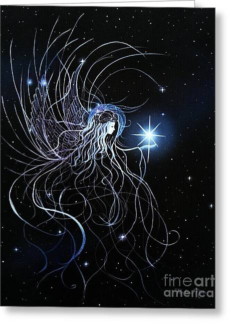 Orions Angel Greeting Card by Pauline Ross