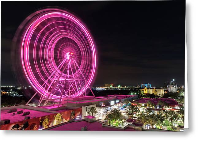 Orlando Eye Greeting Card