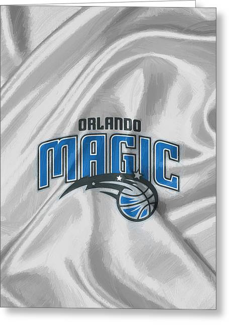 Orlando Magic Greeting Card by Afterdarkness