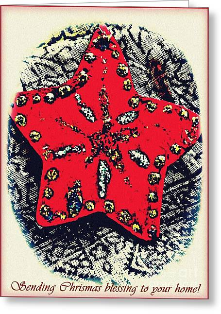 Ornaments 15 Card 2 Greeting Card by Sarah Loft