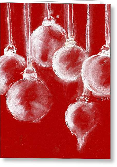 Ornaments Greeting Card by Marilyn Barton