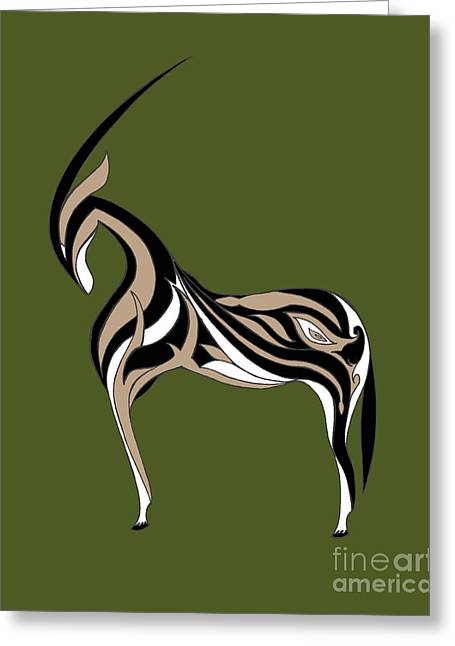 Oryx Greeting Card