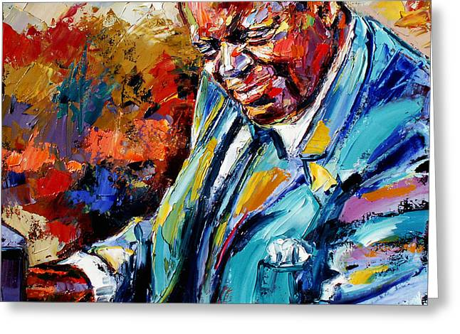 Peterson Greeting Cards - Oscar Greeting Card by Debra Hurd