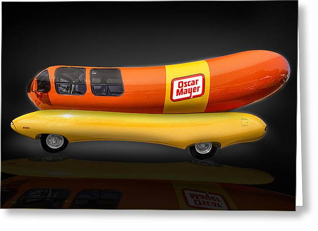 Oscar Mayer Wiener Mobile Greeting Card