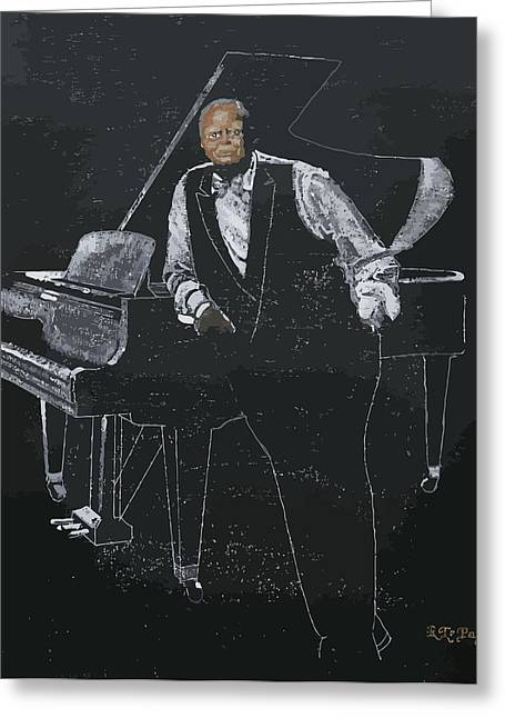 Oscar Peterson Greeting Card