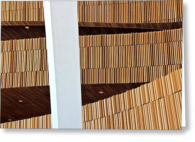 Oslo Opera Norway 17 Greeting Card by Per Lidvall
