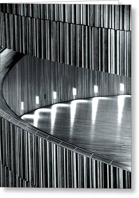 Oslo Opera Norway 199 Greeting Card by Per Lidvall