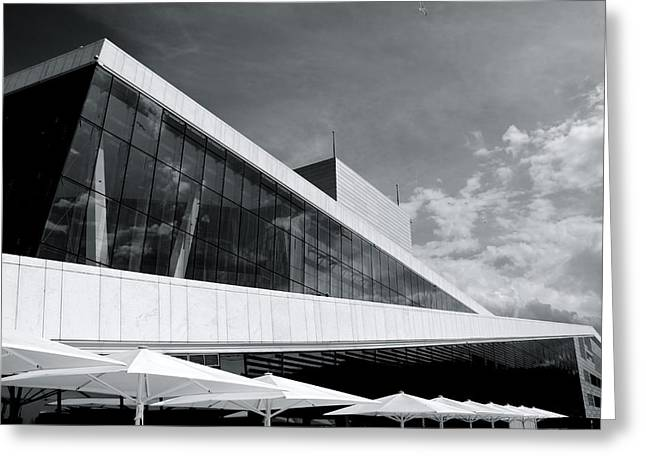 Oslo Opera Norway 52 Greeting Card by Per Lidvall