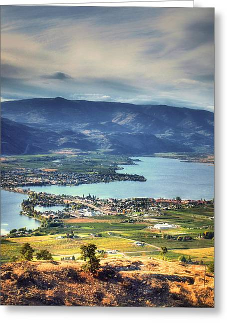 Osoyoos Lake 2 Greeting Card