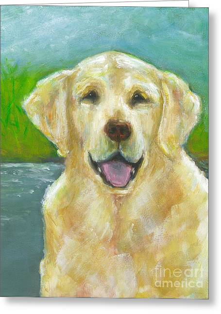 Ossie Greeting Card by Frances Marino