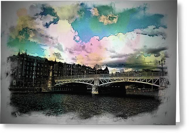 Ostermalm Bridge Greeting Card